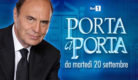 20 settembre 2011 - Porta a porta ospiti stasera ...