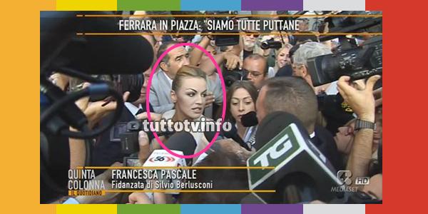 francesca-pascale-berlusconi-televisione-quinta colonna