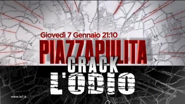 Piazzapulita, puntata speciale del 7 gennaio 2016