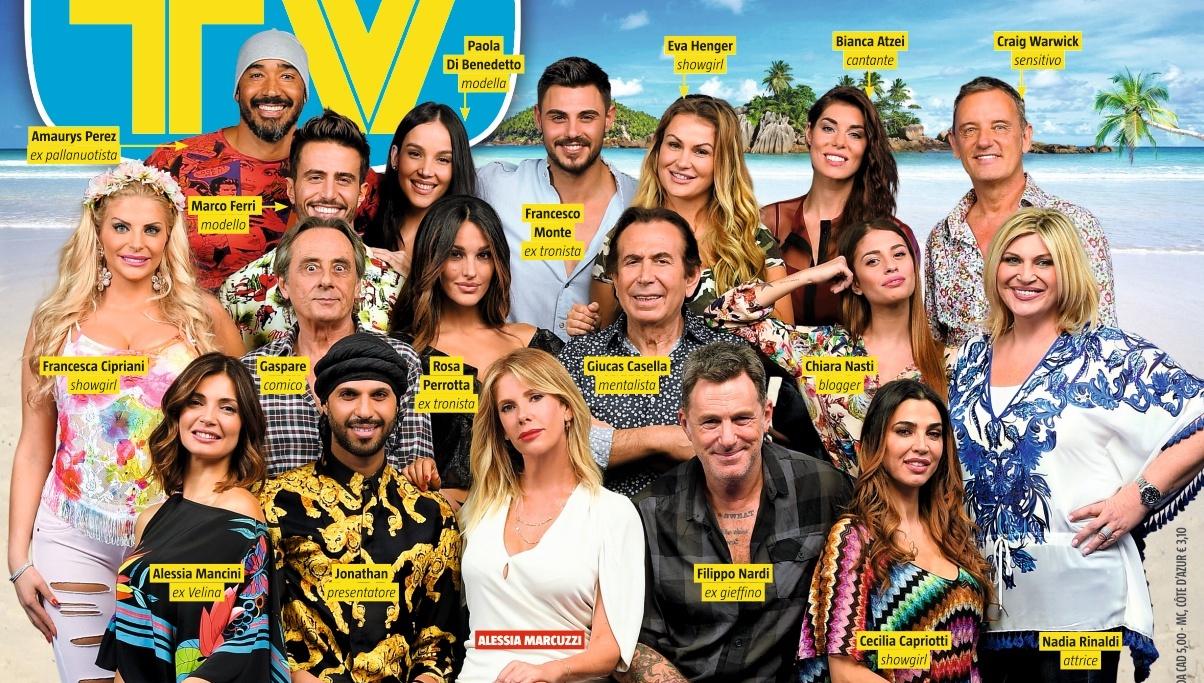 Lisola dei famosi 2018: tutti i naufraghi il cast ufficiale dei