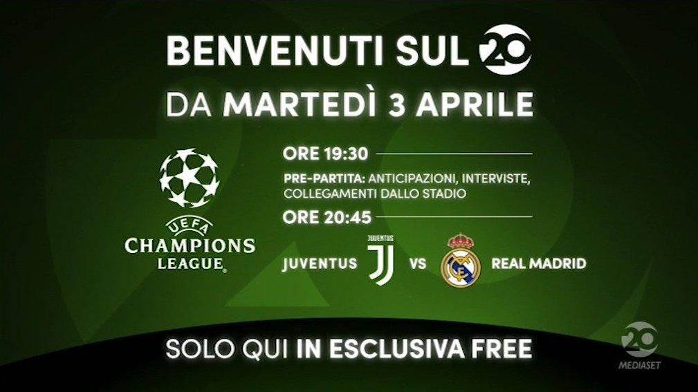 venti-canale-20-mediaset-juve-real-madrid-3-aprile