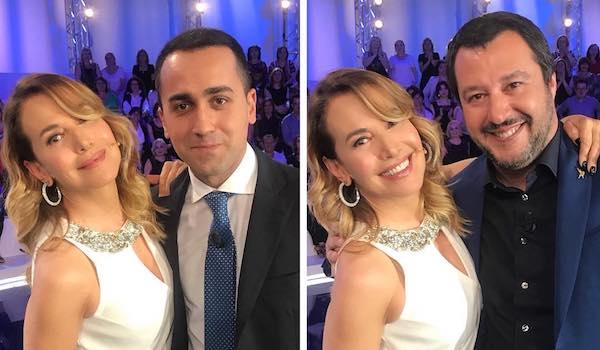 Di Maio e Salvini ospiti di Barbara d'Urso a Pomeriggio 5