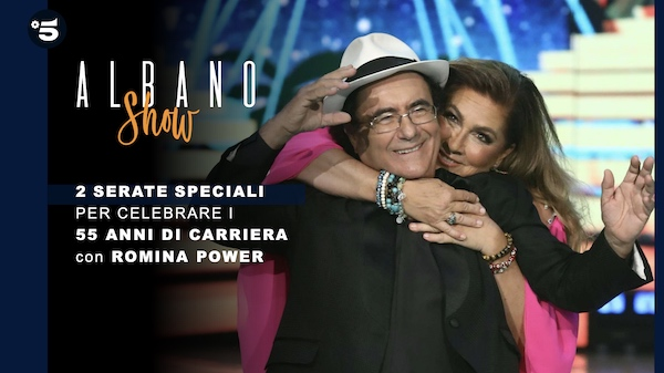 albano-show-canale5-gennaio-2019